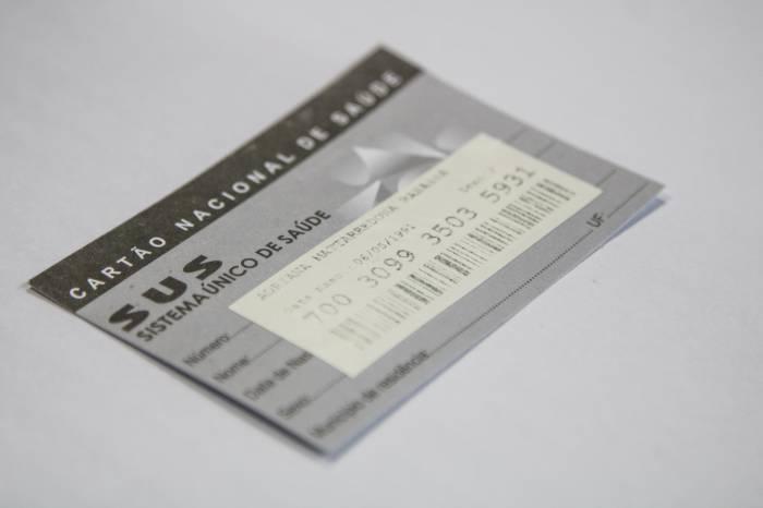 Cartão SUS pode ser feito nas UBSs