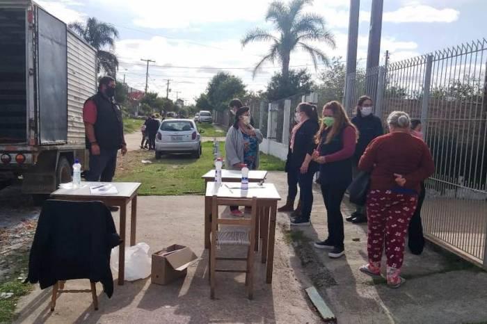 Vasco Pires recebe 102 sacolas de alimentos