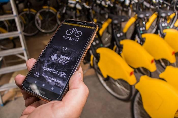 Compartilhamento de bicicletas pelo BikePel segue em funcionamento