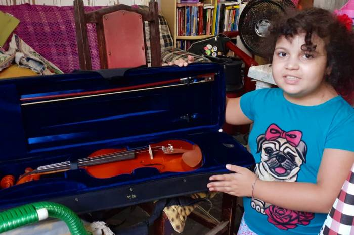Orquestra Estudantil Municipal se adapta durante pandemia para manter aprendizado musical