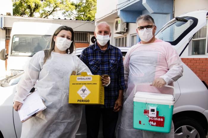 Prefeitura alerta a população sobre visita de vacinadores