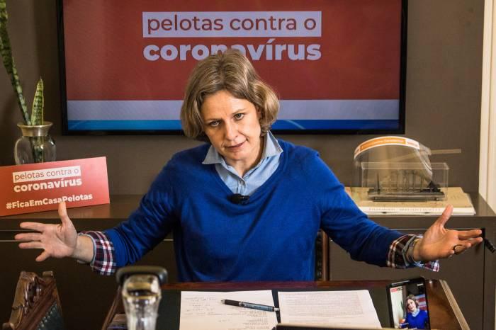 Paula explica regras do lockdown à população