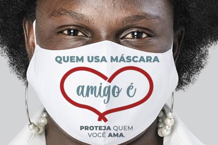 Uso de máscara é alvo de campanha de conscientização da Prefeitura