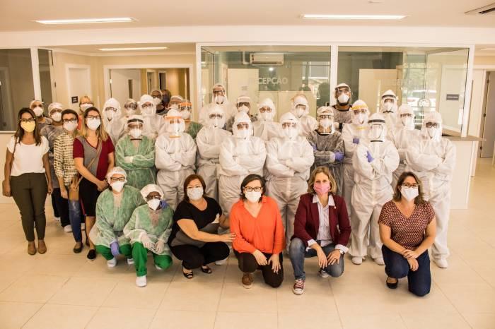 Centro Covid começa a funcionar em Pelotas