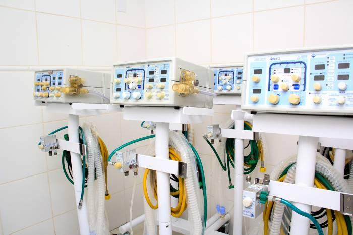 Pelotas tem mais sete respiradores para tratamento de pacientes com coronavírus