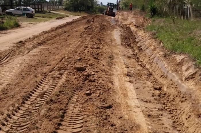 Estradas do Monte Bonito têm manutenção preventiva