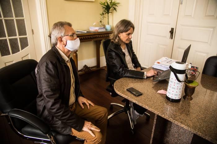 Paula e diretores da Associação Rural avaliam edição da Expofeira