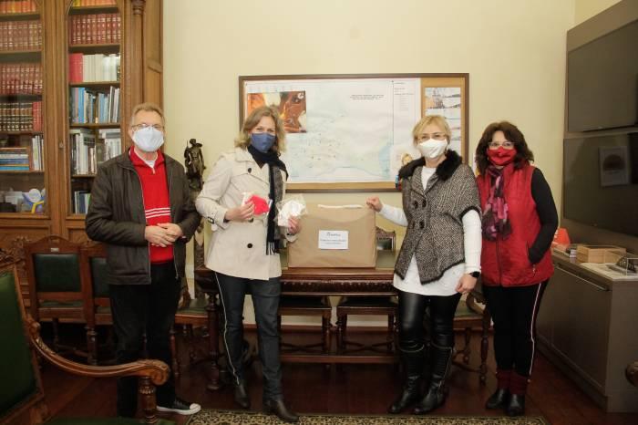 Parceria entre empresárias locais doa mil máscaras para Prefeitura
