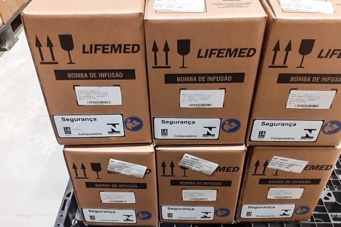 Pronto Socorro recebe bombas de infusão da Lifemed