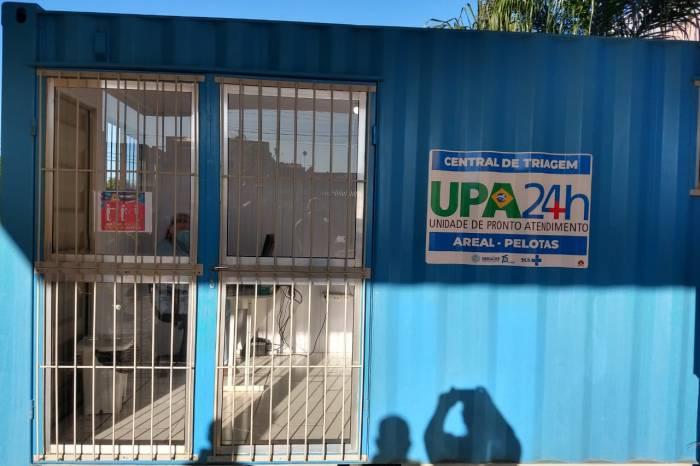 Centro de triagem é instalado na UPA Areal