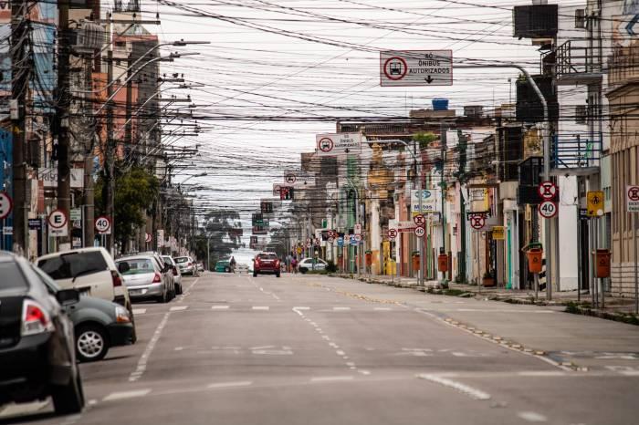 Fim de semana com Lockdown em Pelotas