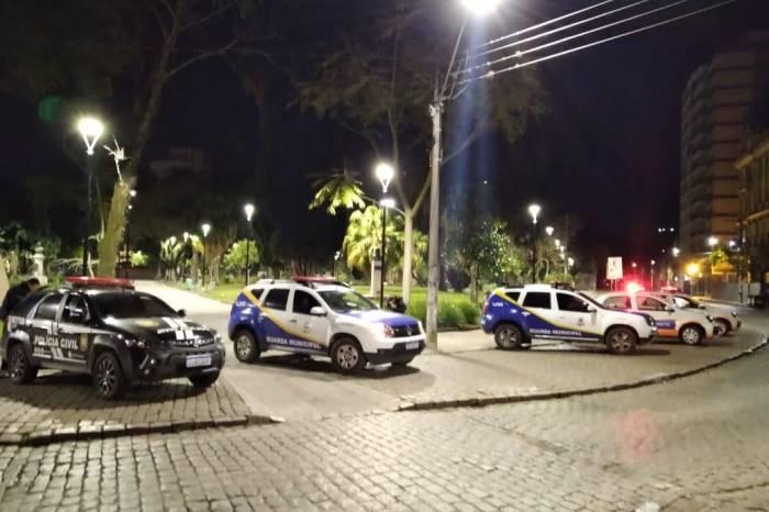 Forças policiais fiscalizam avenidas, Porto, Fragata e Zona Norte