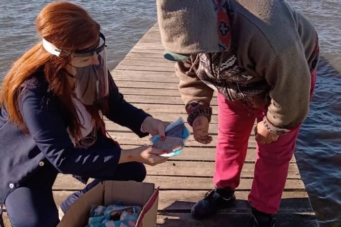 Prefeitura doa 200 máscaras para pescadores da Z3
