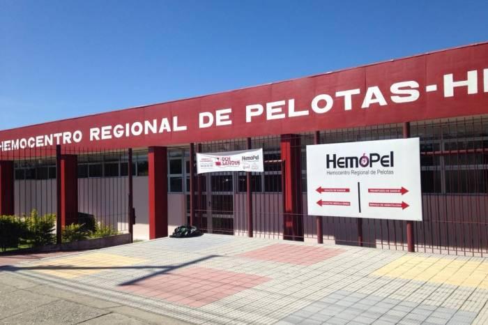 Hemocentro de Pelotas precisa de doações de sangue